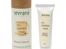 "Сыворотка для лица с кофеином ""It`s coffee time"" Levrana 30 мл"